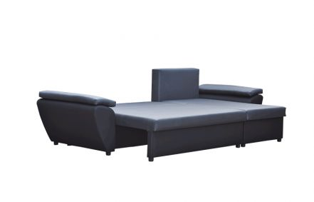 Dark Grey and Light Grey NR 8- Corner Sofa Bed Jacob