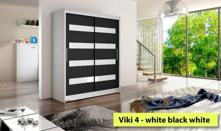 150cm Viki 4, Black and White