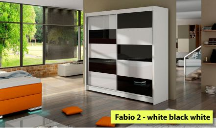 180cm Fabio 2, Wardrobe High gloss