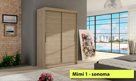 120cm Mimi 1, Wardrobe no Mirror