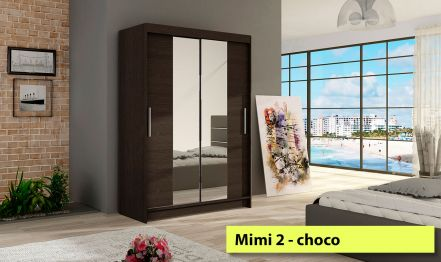 120cm Mimi 2, Wardrobe with Miror