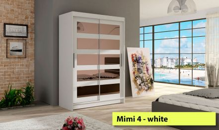 120cm Mimi 4, Wardrobe with 5 Mirors
